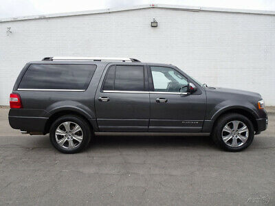 2015 Ford Expedition Platinum 2015 Ford Expedition EL Platinum SUV Used 3.5L V6 24V Automatic 4WD