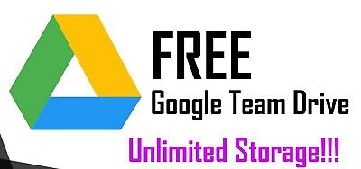 UNLIMITED GOOGLE Team DRIVE FOR YOUR EXISTING ACCOUNT get 1 gift 1 very fast new