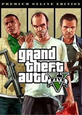 Grand Theft Auto 5 Best GTA Game PREMIUM Online Edition Global Key FAST DELIVERY