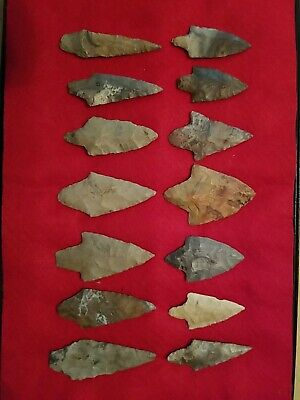 Native American Artifacts Cherokee Co. Oklahoma Gary Points