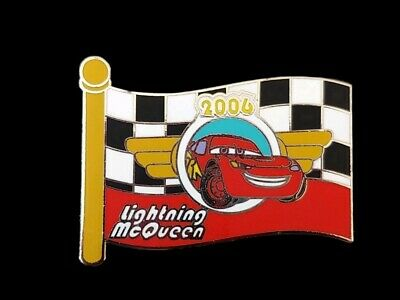 Disney Pin WDW - Mystery Box Set - Character Flags - Lightning McQueen LE 250