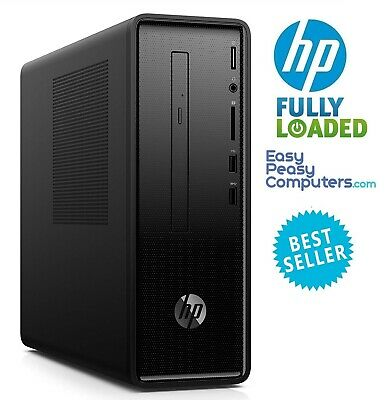 HP Desktop Computer Windows 10 8GB 1TB Bluetooth WiFi DVD+RW HDMI (FULLY LOADED)