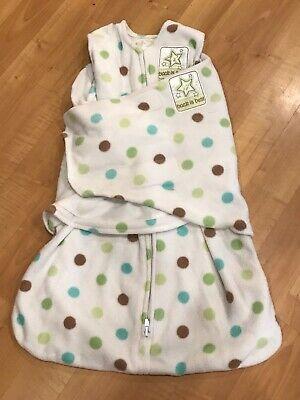 Halo sleep sack swaddle small SOFT Clean/Strong Velrco
