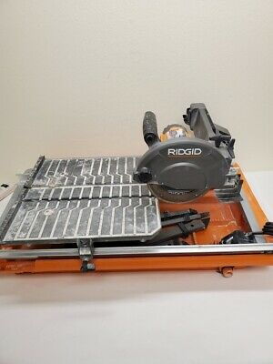 Ridgid R4030 Amp Corded 7 in. Wet Tile Saw 5/L213566A