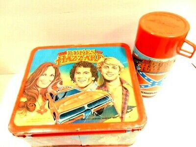 old 1980 Aladdin metal Lunch box: The Dukes of Hazzard