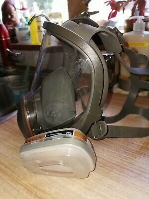 UK Stock Gas Cover Paint Chemical Mask Full Face Respirator Gas Mask