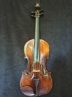 Antike Geige old Violine. Ins. LEANDRO BISIACH MILANO 1898