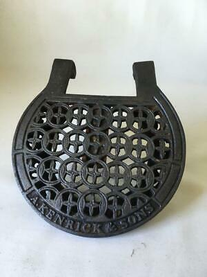 Antique Cast Iron Extendable Trivet - Kenrick Dresser
