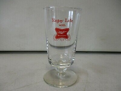 Miller High Life Glass