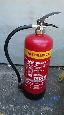 6ltr Wet Chemical Fire Extinguisher