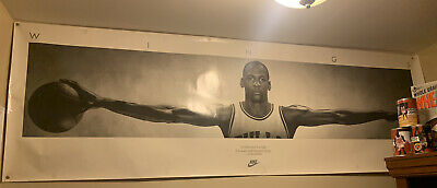 VINTAGE Michael Jordan Nike Wings Ready For Frame Poster Please See All Pictures