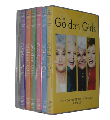 The Golden Girls Complete Series DVD Bundle Season 1-7 (21-Disc) Fast Shipping