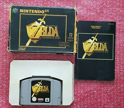 The Legend Of Zelda Ocarina Of Time N64 Nintendo 64 Fah