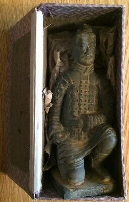 """6.75"""" Terracotta Warrior Army Museum Factory Figure Soldier"""