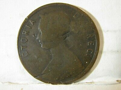 1888. Canada, Newfoundland. Large Cent Coin.