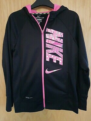 Girls Age 13-15years XL Nike Therma Fit Sports Zipper Top