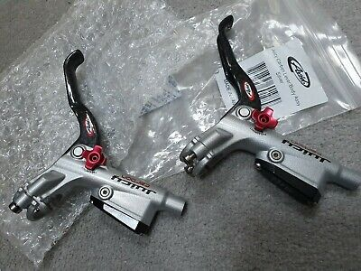 AVID Juicy Carbon Levers X 2 Silver New