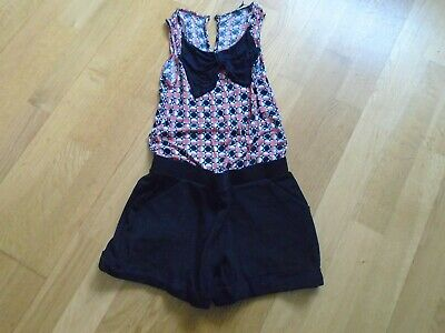 Girls M&S Limited Collection Shorts Playsuit Aged 9Yrs