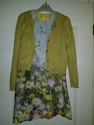 Girls Dress Outfit Bundle Next Marks And Spencer Age 9 VGC.