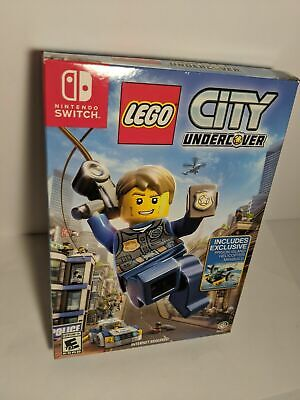 Lego City Undercover Nintendo Switch Collectors w Helicopter MORE IN STORE