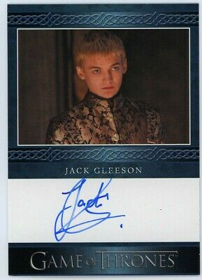 2020 Game of Thrones Season 8 Jack Gleeson (Blue) Autograph VERY LIMITED