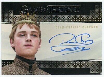 2020 Game of Thrones Season 8 Dean-Charles Chapman (Valyrian) Autograph EXTR LTD