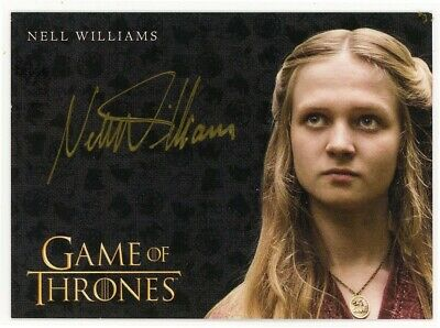 2020 Game of Thrones Season 8 Nell Williams (Gold) Autograph VERY LIMITED