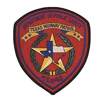 Texas Department Of Public Safety Highway Patrol Police Shoulder Patch TX State