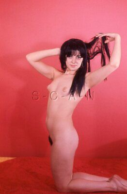 Org Vintage Amateur Nude 1950s-60s 35mm Slide / Negative- Endowed- Gypsy- #4