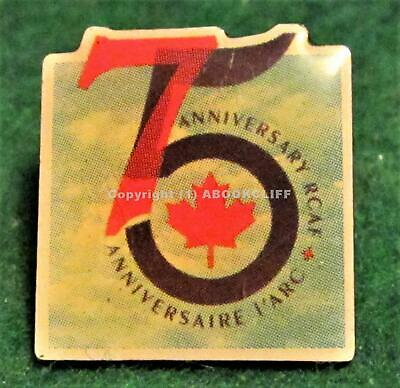 RCAF ROYAL CANADIAN AIR FORCE 75th CANADIAN FORCES Lapel Pin