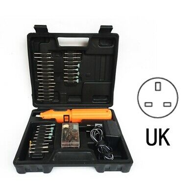Cordless Dremel Type Hobby Rotary Mini Tool Drill + Case + 60 Accessories Uk