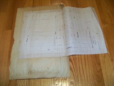 1800's Map Plainfield NJ Rahway New Jersey E. W. Runyon J. A. Dunham Archer