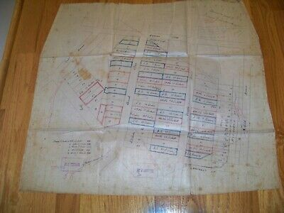 1869 Map Elizabeth NJ Freeman E. Tucker Farm John B. Bacon P. Sours Surveyor