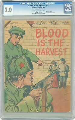 Blood Is the Harvest #0A CGC 3.0 1950 0805397002