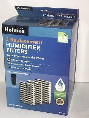 HOLMES PACK OF 3 HWF100 Replacement Humidifier Filter NIB