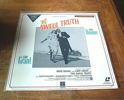 THE AWFUL TRUTH - FS Laserdisc