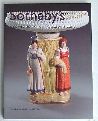 Russian Works of Art, Fabergé, Icons:  SOTHEBYS, London Olympia, 23.5.2002