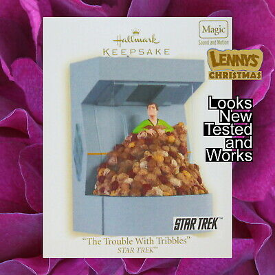 Hallmark Ornament, 2008 The Trouble With Tribbles, Star Trek, Looks New