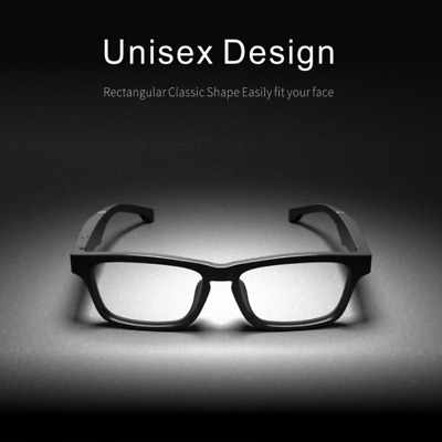 SnazzySalmon Presents High End Smart Glasses, Bluetooth, Open Ear Audio