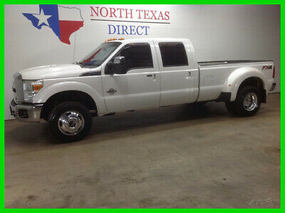 2014 Ford F-350 FREE DELIVERY Lariat FX4 4x4 Diesel DRW Heated AC 2014 FREE DELIVERY Lariat FX4 4x4 Diesel DRW Heated AC  Used Turbo 6.7L V8 32V