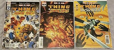 Marvel 2-In-One #1-12 & Annual #1 Nm Full Set Comics Fantastic Four Ff Thing