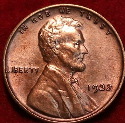 1932 Philadelphia Mint Copper Lincoln Wheat Cent