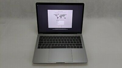 "Apple MacBook Pro 13.3"" 2017 A1708 Intel Core i5 2.3GHz 8GB 256GB SSD Space Gray"