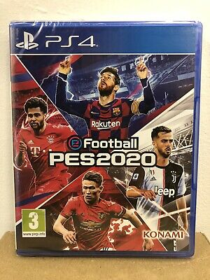 eFootball PES2020 (PS4) New & Sealed In Stock PAL Region Free