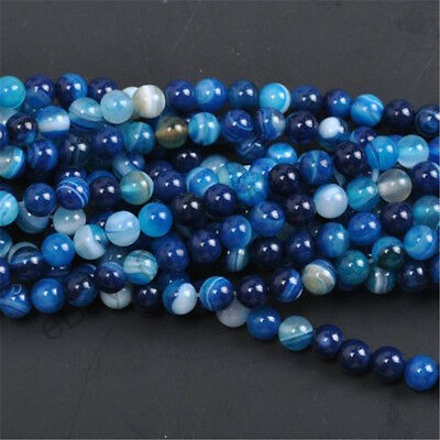 Wholesale Natural Gemstone Round Spacer Loose Beads 4MM
