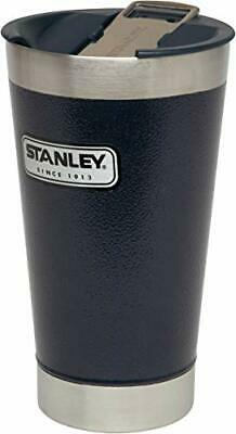 Stanley Legendary Classic Vacuum Pint HG Hammer Tone Navy Double Wall Vacuum...