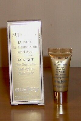 SISLEY  SUPREMYA LA NUIT  - LE GRAND SOIN ANTI-AGE 5 TUBETTI = 10 ml