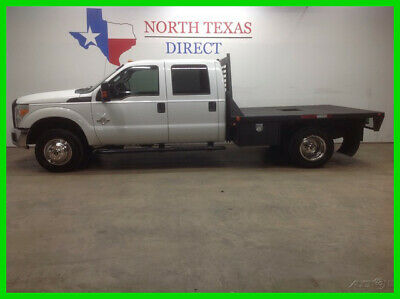 2011 Ford F-350 FREE DELIVERY XL 4x4 Diesel Crew Flatbed Keyless C 2011 FREE DELIVERY XL 4x4 Diesel Crew Flatbed Keyless C Used Turbo 6.7L V8 32V