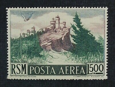 CKStamps: Italy Stamps Collection San Marino Scott#C71 Mint H OG Tiny Thin