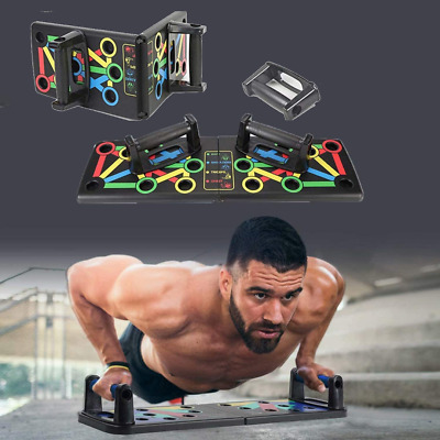 Push Up Board Rack Fitness Exercise Workout Gym Home - NEW